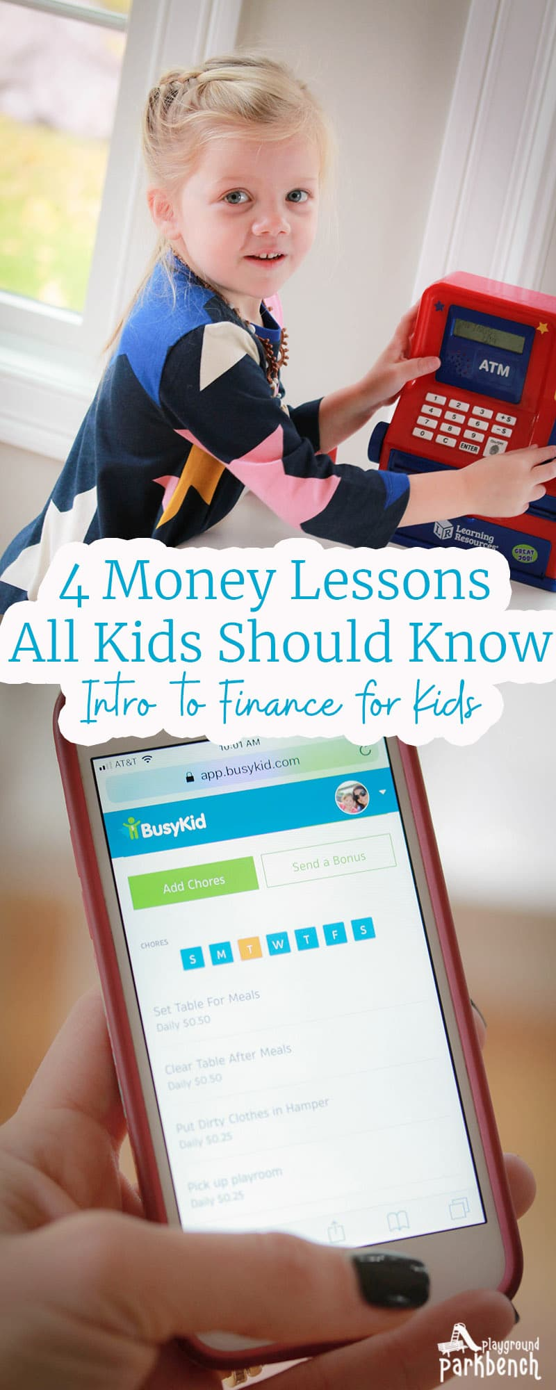 When should you start teaching your kids about money? And what should you teach them? These 4 simple money lessons are the perfect introduction to finance for kids, and you can start as soon as they are old enough to count | Family Finances | Preschool | Kindergarten | Allowances |