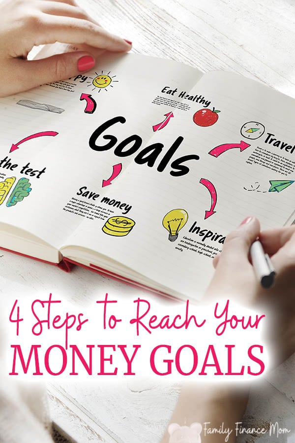 You can reach your goals - you just can't reach them all at once. Learn the 4 simple phases to setting and reaching your family's money goals #personalfinance #moneytips #savingmoney