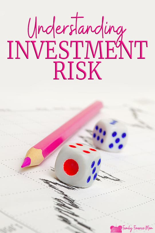 Understanding investment risk - and your real risk of loss as a long-term investor - is important in gaining confidence to take risk and invest your assets to earn the best return #personalfinance #investing #moneymanagement #moneytips #savingmoney