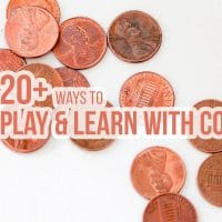 Teaching Money to Kids: 20+ Ways to Play & Learn with Coins