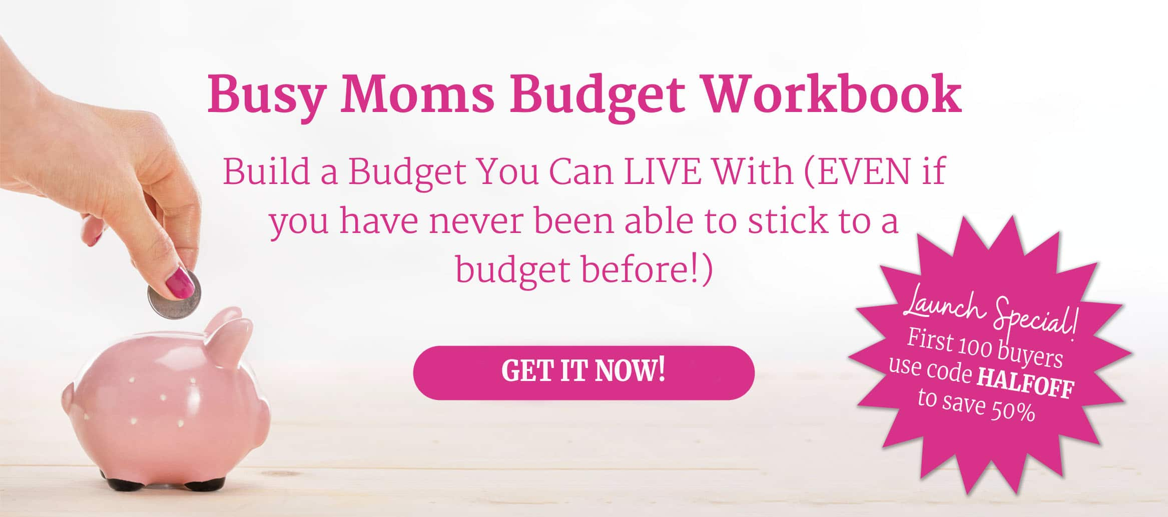 Busy Moms Budget Blog Banner